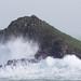 Storm Brian Hits Mouls Island