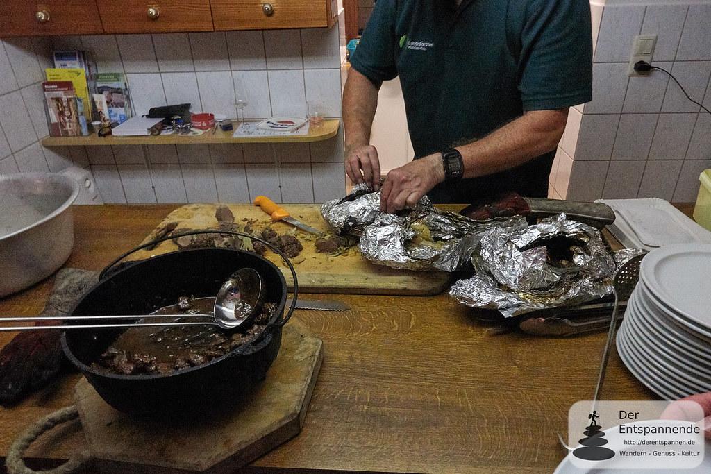 Wildgerichte vom Förster in der Kupferberghütte bei Imsbach