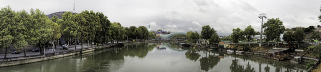 Mtkvari (Kura) river, Tbilisi