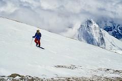 Expedition Cho Oyu. Auf dem Gipfelplateau. Foto: Günther Härter.