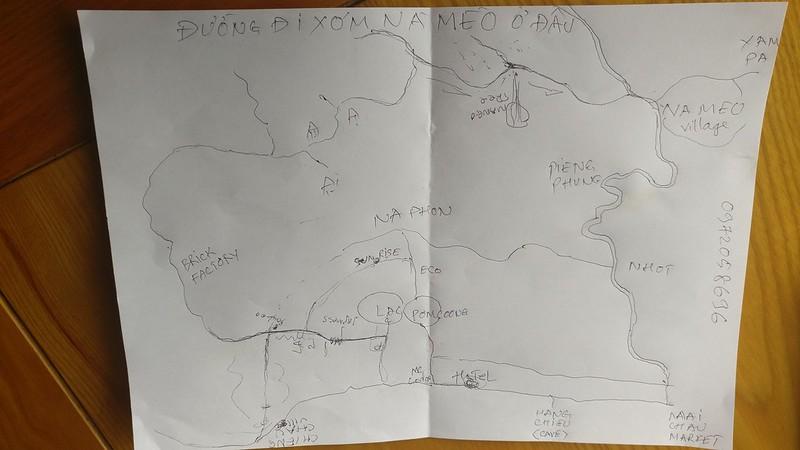 Mapa esbozado