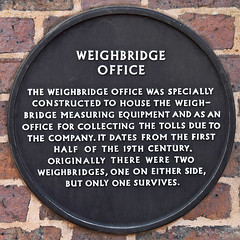 Photo of Weighbridge Office, Coventry black plaque