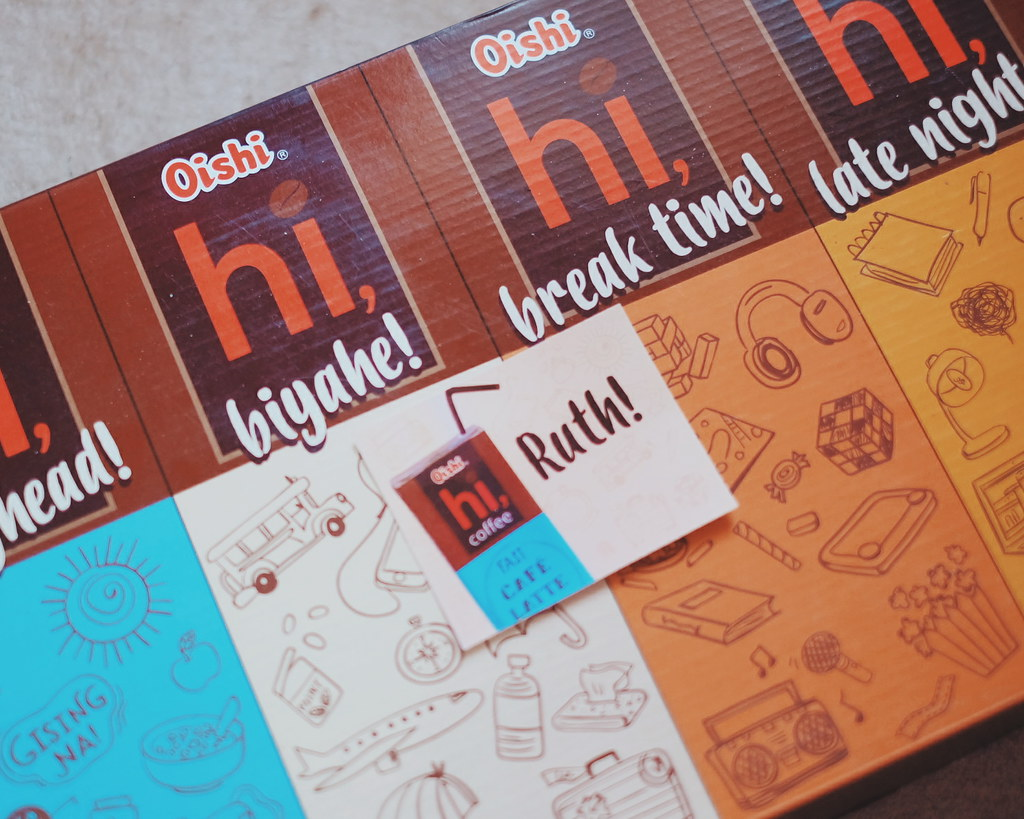 Oishi Hi Coffee Tetra Pack