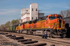 BNSF 5282 | GE C44-9W | CN Memphis Subdivision