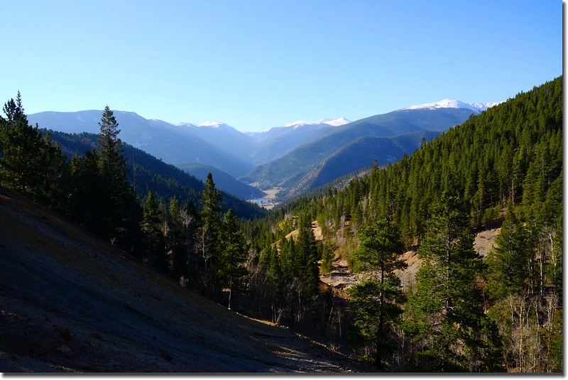 Looking South at Guanella Pass from Bill Moore Lake Trail near 9,840' (3)