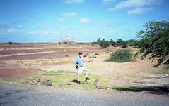 Tom by road in Sal