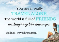 Traveling alone will certainly help you make new friends ❤️ #AllnAll #airplane #travel #didyouknow #fact #travelalone #travelsolo #solo