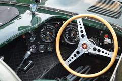Jaguar D Type - Cockpit