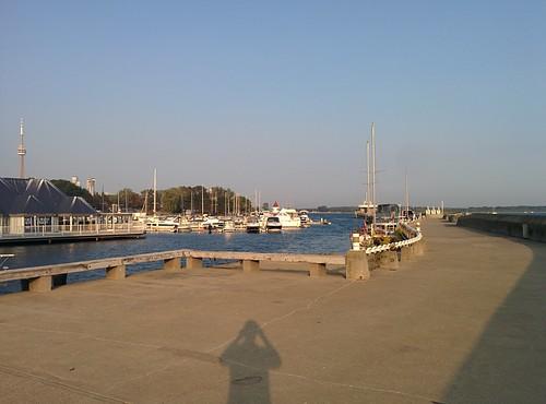 On the pier (1) #toronto #ontarioplace #pier #concrete #architecture #marina #latergram