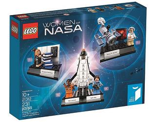 「新增官圖&販售資訊!」極具意義又精緻的小場景組!!LEGO 21312 IDEAS 系列【NASA 的女性們】Women of NASA