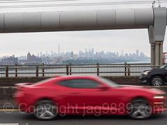 George Washington Bridge over the Hudson River, New Jersey-New York