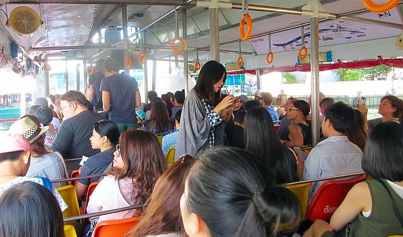 Explore Bangkok Chao Phraya river ferry