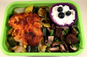 Roasted Red Pepper Hummus Chicken Bento by Cathryn3