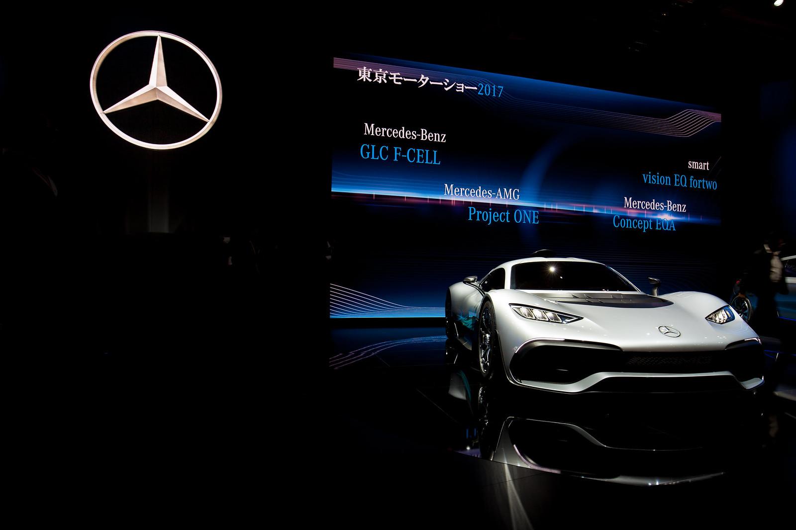 TokyoMotorShow2017 - MercedesBenz - Project ONE (1)