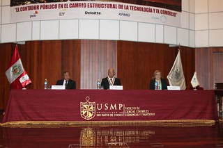 Facultad de Ciencias Contables, Económicas y Financieras realizó la IX Conferencia de Auditoría, Contabilidad, Finanzas y Tributación