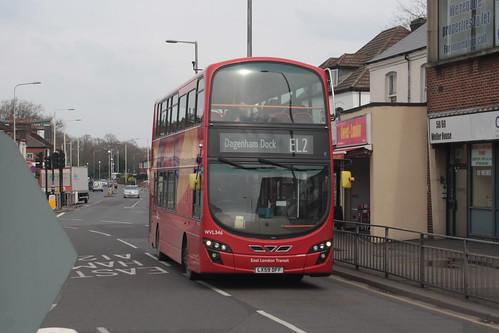 Go-Ahead London WVL346 LX59DFF