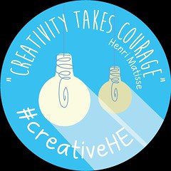 creativity takes courage #creativehe badge_white