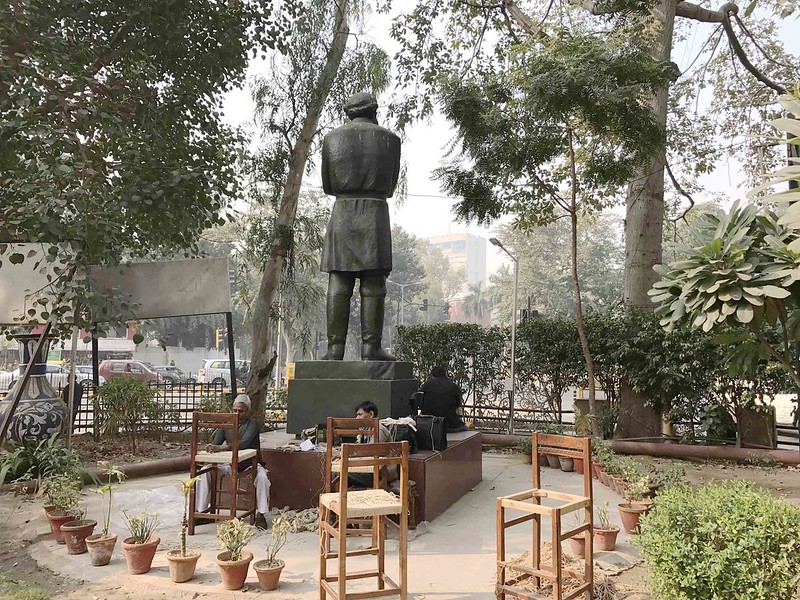 City Landmark - Tolstoy's Statue, Near Janpath Market