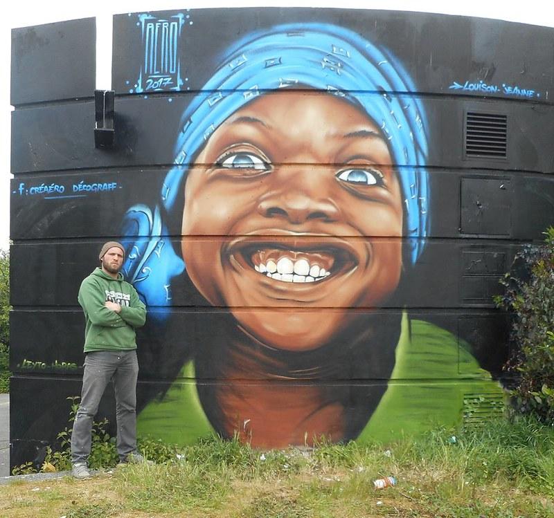 Quand les murs te sourient... Rennes 2017