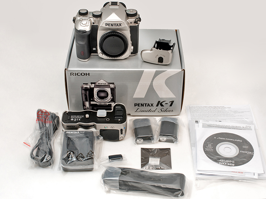 PENTAX K-1 Limited Silver Edition What's in the box