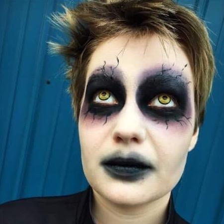 Demon Priest Makeup
