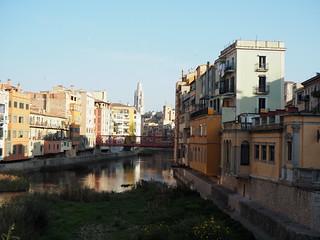Girona des del Pont de Pedra per Teresa Grau Ros a Flickr