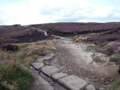 Path along Edge of Kinder Scout Plateau