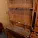 Solid wood dresser kitchen with shelf E110