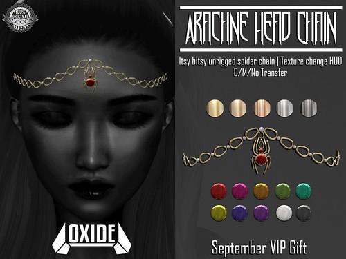OXIDE Arachne Headchain - Sept VIP Gift!