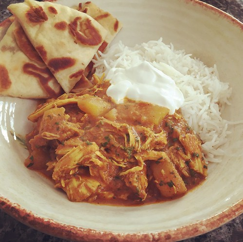 Indian chicken stew