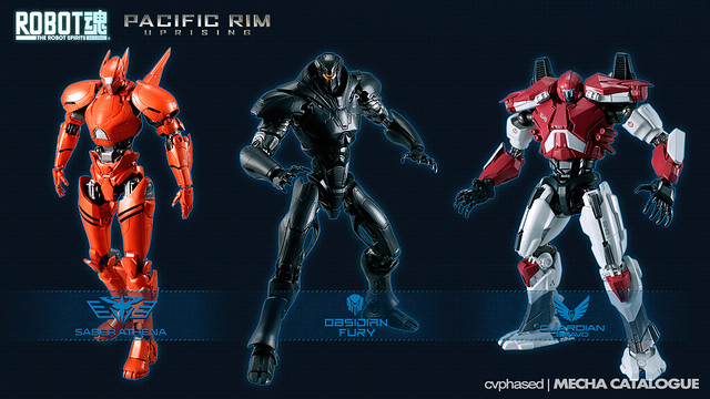 "PACIFIC RIM Uprising - New ""THE ROBOT SPIRITS"" Reveals"
