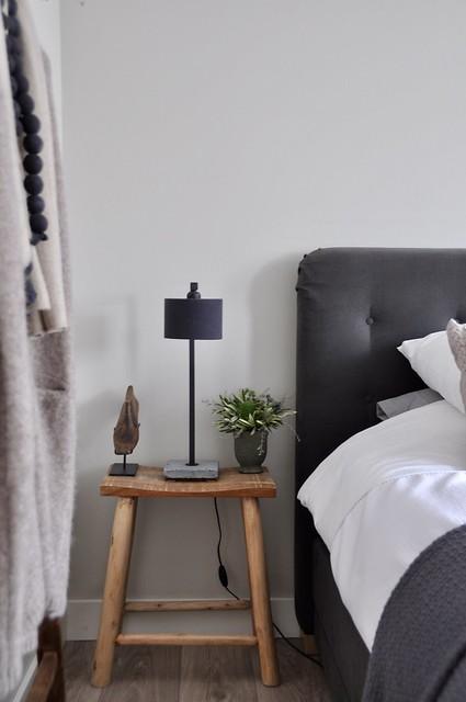 Slaapkamer strak landelijk