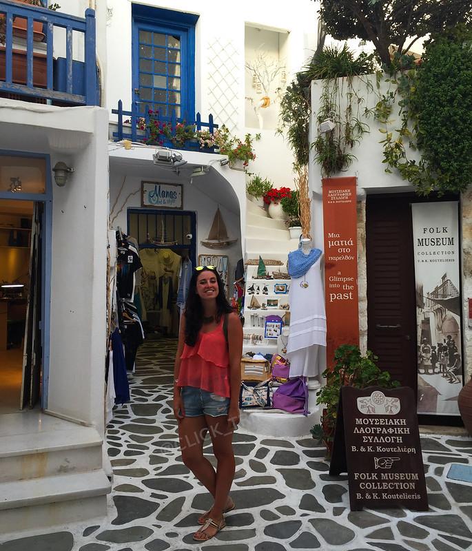 · Tiendas en el barrio de Agios Giorgios ·