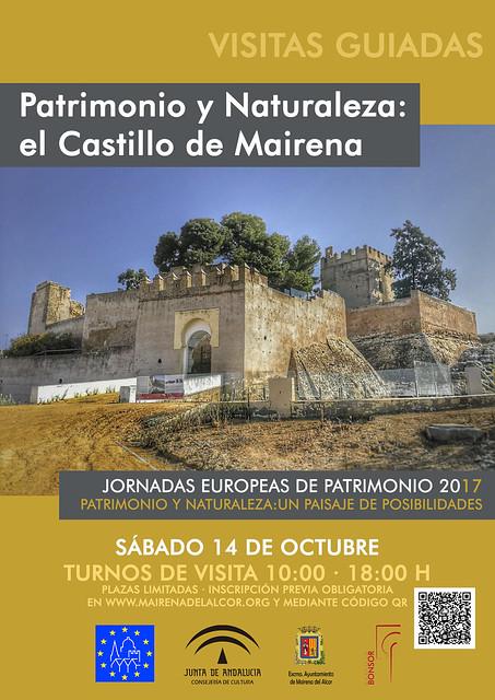 CartelJornadasEuropeasPatrimonioCastillo