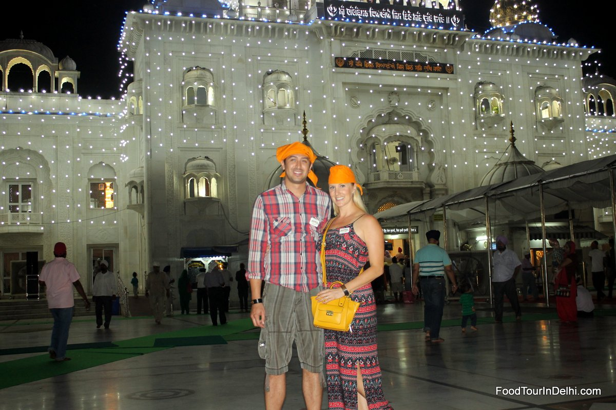 In Bangla Sahib Gurudwara