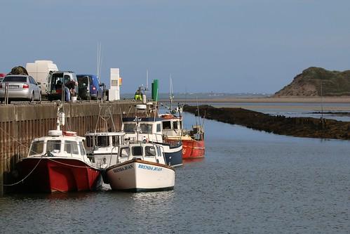 25th September 2017. Fishing Boats at Killala, County Mayo, Ireland