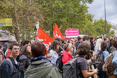 Paris protest, 10-10-2017-No 12