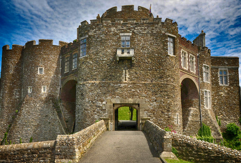 Constable's Tower in Dover Castle. Credit Nilfanion