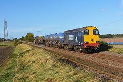 20302 tnt 20312 with RHTT 3S13 Sheffield to Sheffield via Gainsborough seen at Morton nr Retford