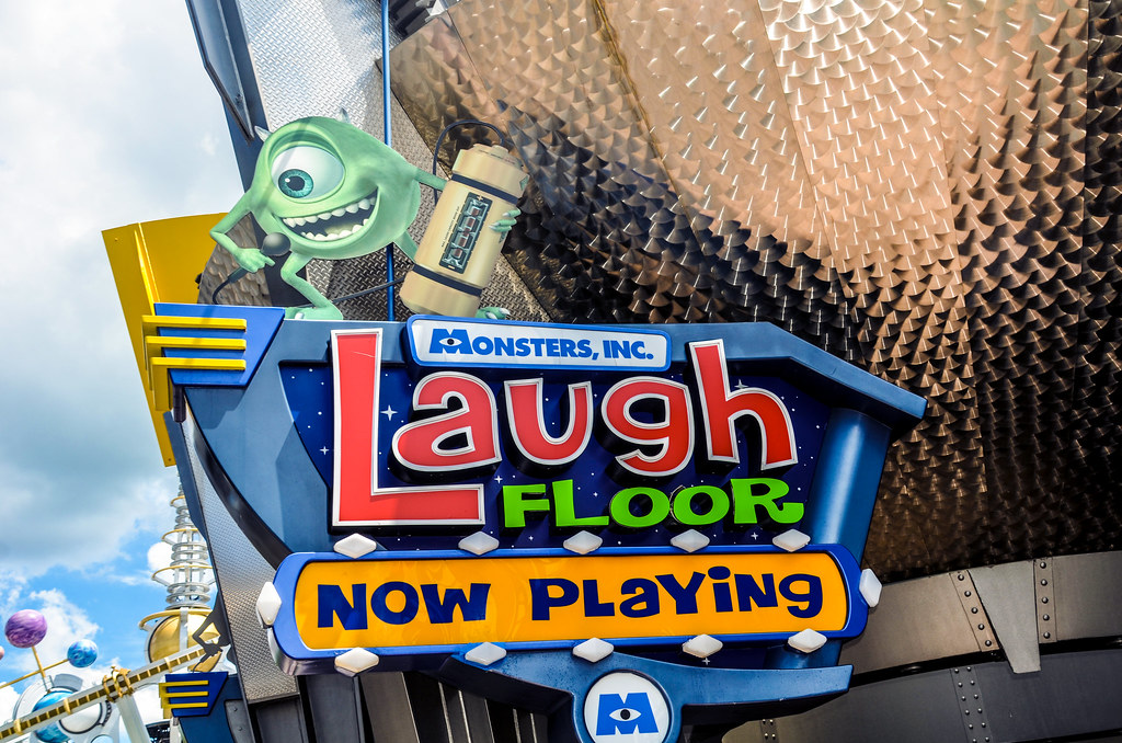 Monsters Inc Laugh Floor MK