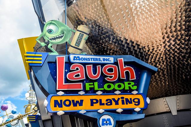 Monsters Inc Laugh Floor MK