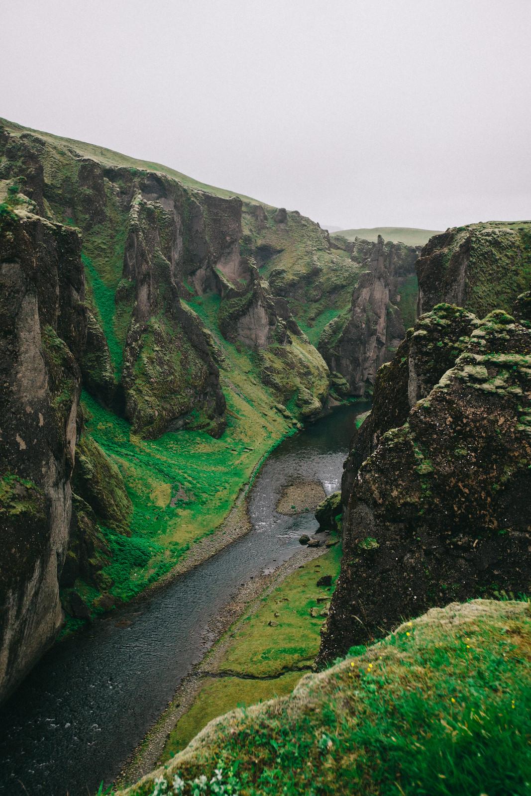 Fjadrárgljúfurin kanjoni