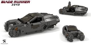 Bladerunner 2049 - Spinner