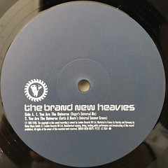 THE BRAND NEW HEAVIES:YOU ARE THE UNIVERSE(LABEL SIDE-A)