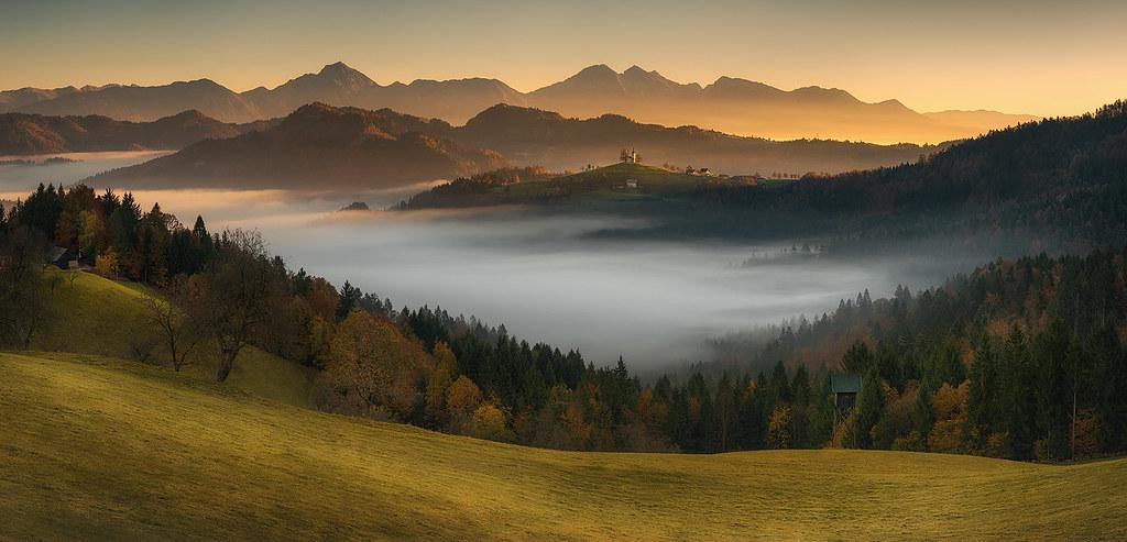 morning above the fog