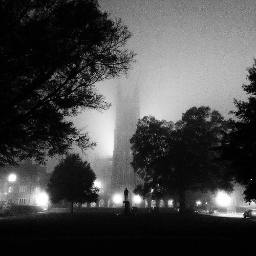 Spooky campus views for All Hallow's Eve