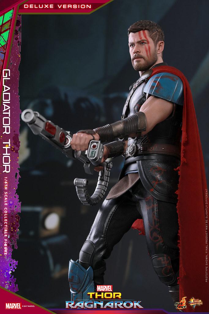 Hot Toys - MMS445 - 雷神索爾3:諸神黃昏【角鬥士索爾 豪華版】Thor: Ragnarok Gladiator Thor Deluxe Version 1/6 比例人偶作品