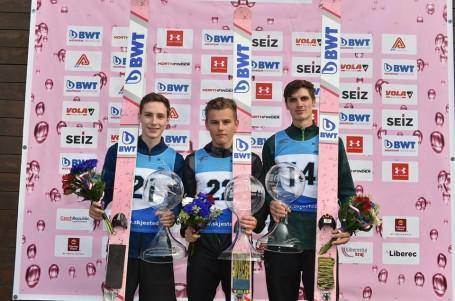 Tomáš Portyk ovládl potřetí za sebou český šampionát v letní severské kombinaci