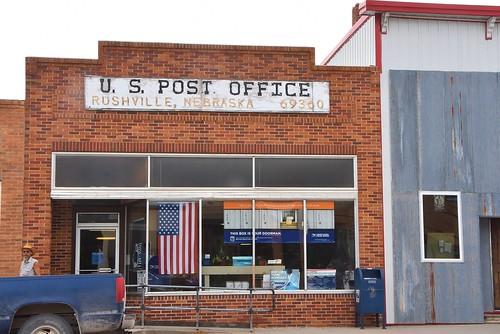 US PO, Rushville, Nebraska