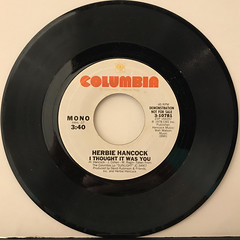 HERBIE HANCOCK:I THOUGHT IT WAS YOU(RECORD SIDE-B)